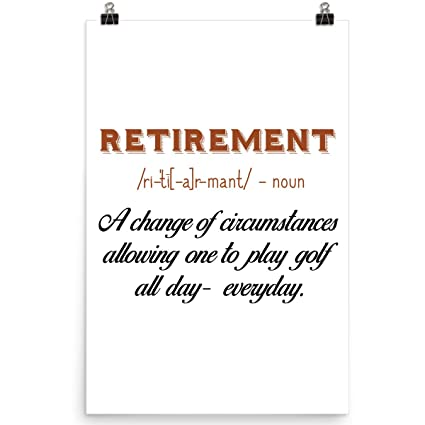 amazon com doozygifts99 retirement with golf golf gift ideas for