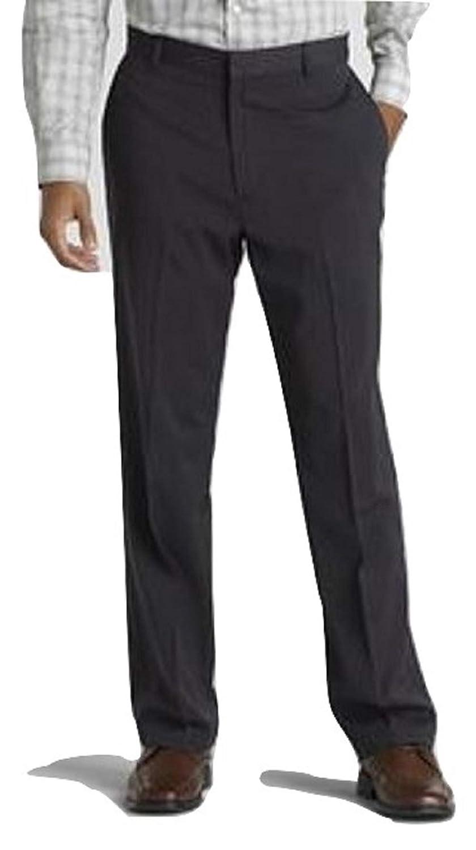 Covington Mens Flat-Front Dress Pants Size 40X32 Black
