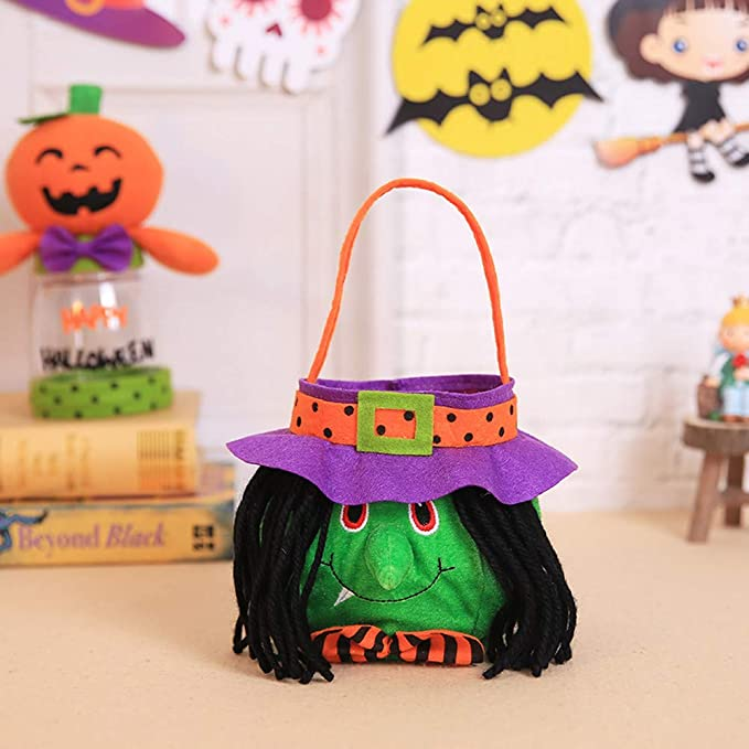Amazon.com: Ouniman - Bolsa de caramelos para Halloween ...