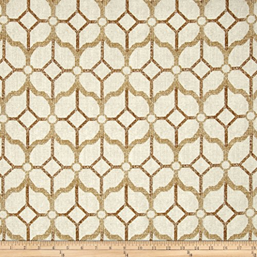 Magnolia Home Fashions 0462073 Rockaway Chestnut Fabric by The Yard ()