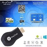 A-SZCXTOP AnyCast m2 + mini - wi - fi par affichage télé antenne miracast dongle receveur 1080p airmirror partage hdmi télé bâton facilement (m2 et tvhd télévision dongle)