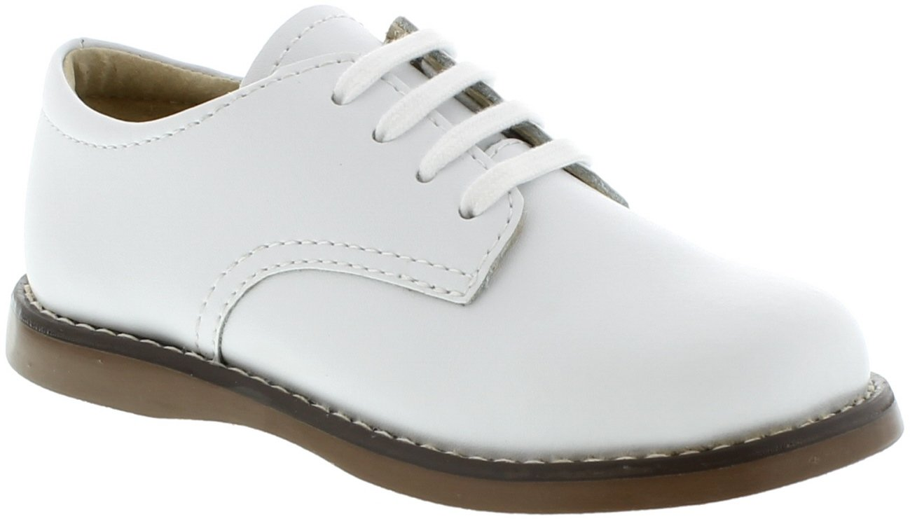 FootMates Baby Boy's Willy 3 (Infant/Toddler/Little Kid) White Oxford 8.5 Toddler M/W by FOOTMATES