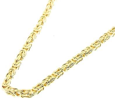 Goldkette königskette  Massive Gold Kette Königskette 585 Gold 14Kt. 50 cm 34gramm ...