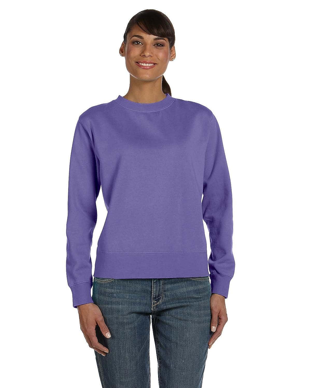 Comfort Colors by Chouinard Ladies Crewneck Sweatshirt - White - X-Large