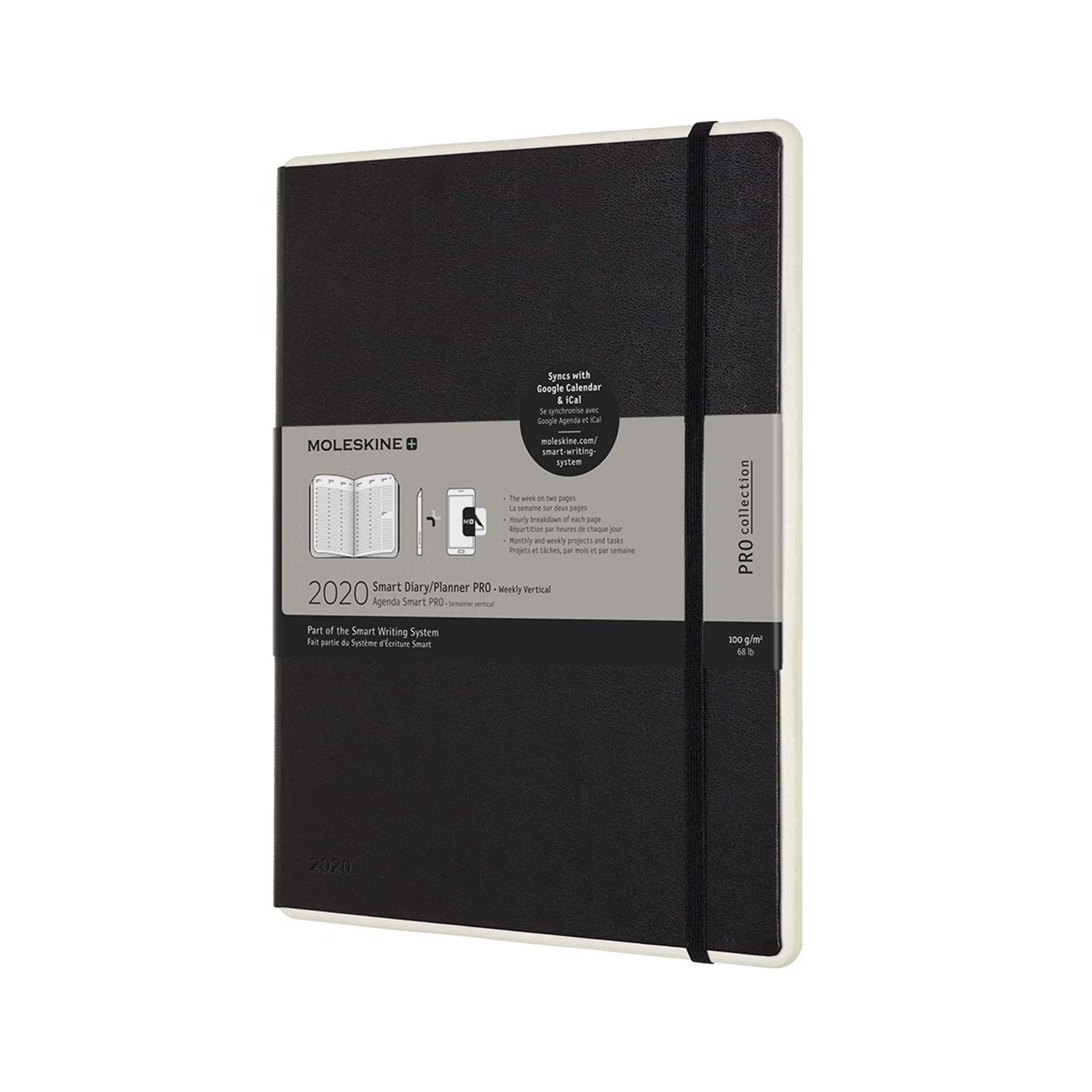 Moleskine 2020 Professional Weekly Vertical Smart Planner ...