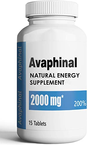 Avaphinal Natural Male Energy Supplement – Boosts Performance for Men