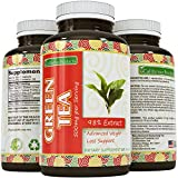 Green Tea Weight Loss Pills - Burn Belly Fat - Natural Supplements for Men and Women - Contains 350 mg EGCg with Antioxidant and Polyphenols to Complement Your Weight Loss Plan by California Products
