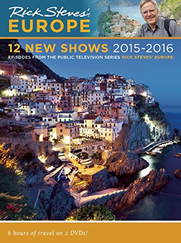 Rick Steves Europe:12 New Shows DVD 2015-2016