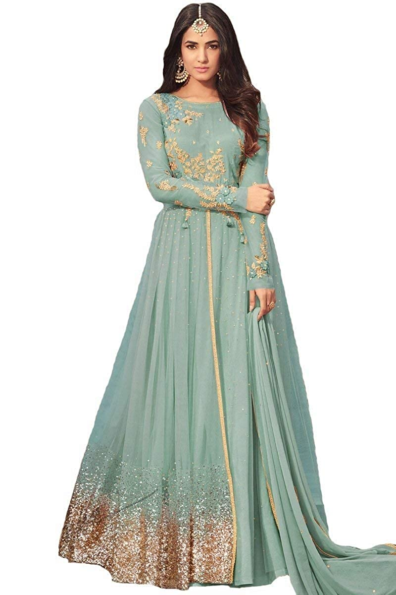 Women's Anarkali Salwar Kameez Designer Indian Dress Ethnic Party Embroidered Gown Range Of India