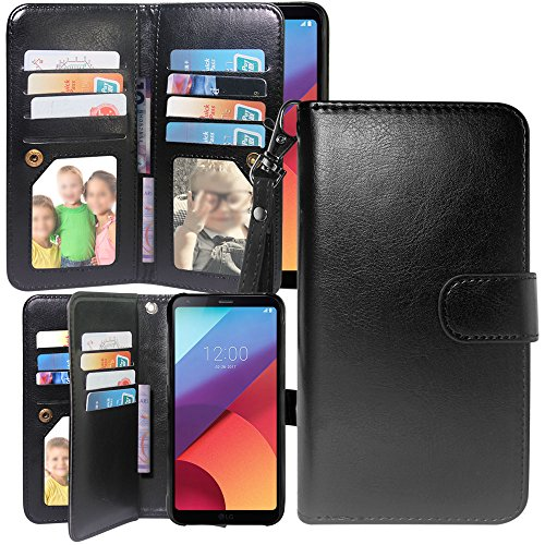 S7 Active Case,Harryshell Luxury 12 Card Slots Shockproof PU Leather Wallet Flip Protective Case Cover with Wrist Strap for Samsung Galaxy S7 Active SM-G891A (A-2)
