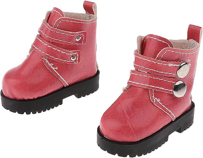 Puppen Schuhe Stiefel Springerstiefel Knöchel Schuhe Puppen Zubehör