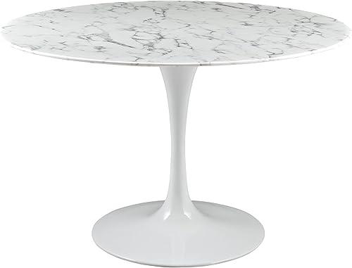 Modway Lippa 47 Mid-Century Dining Table