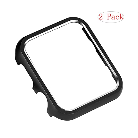 Amazon.com: 2 Pack Aluminum Metal Watch Frame Case Protective Case ...