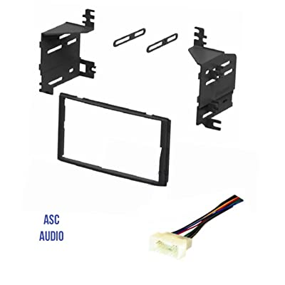 ASC Audio Car Stereo Radio Dash Kit and Wire Harness for installing a Double Din Radio for 2006 - 2008 Hyundai Accent, 2006 - 2008 Kia Rio, 2006 - 2008 Kia Rio 5, 2005 - 2008 Kia Sportage: Car Electronics