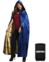 Wonder Woman Dawn Of Justice Deluxe Adult Hooded Cloak Costume Cape + Coolie