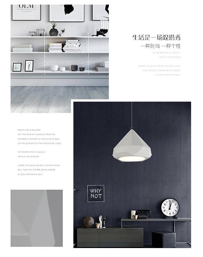 Lámpara moderna/lámpara colgante/luz de techo Lámpara cerámica blanca creativa LED moderna nórdica para oficina/comedor/sala de ...