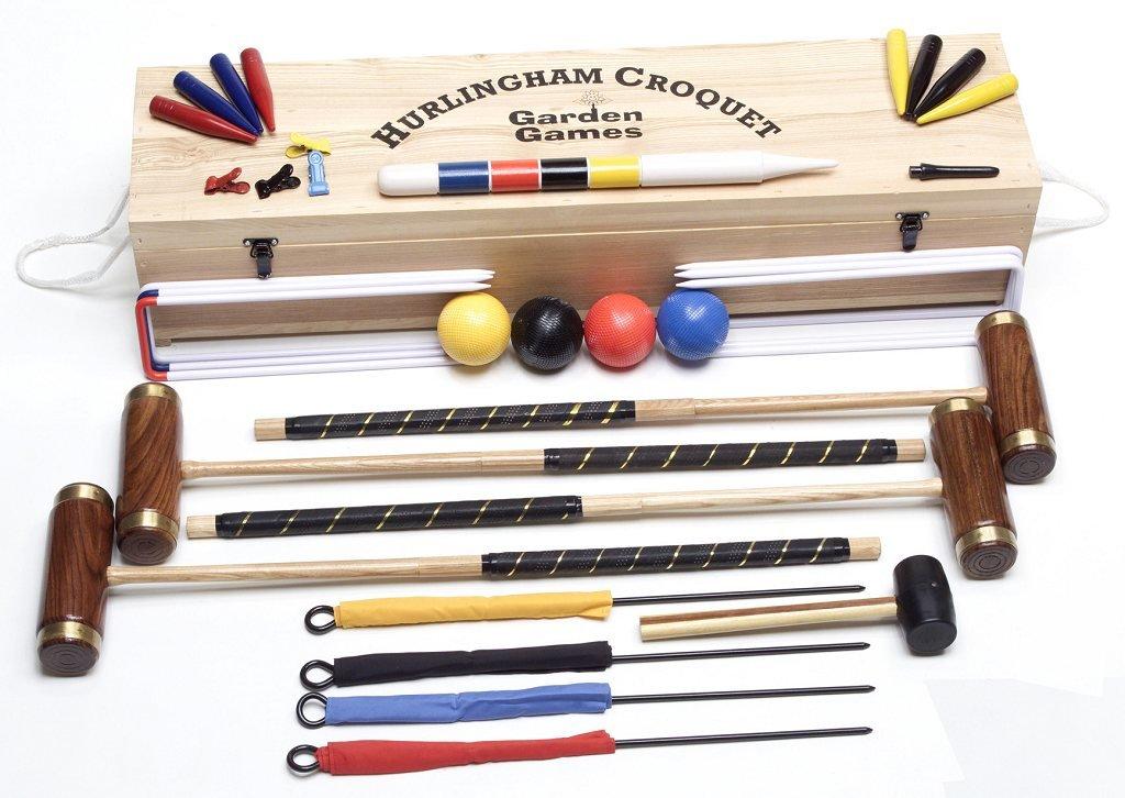 Garden Games Hurlingham Croquet Set (4 player) by Garden Games (Image #1)