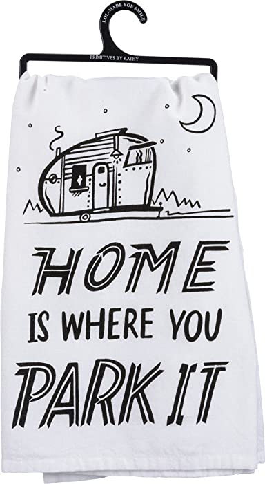 Top 8 Home Is Where You Park It Towel