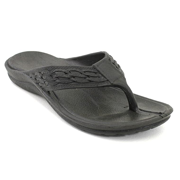 Surfer Black Pali Hawaii Sandal