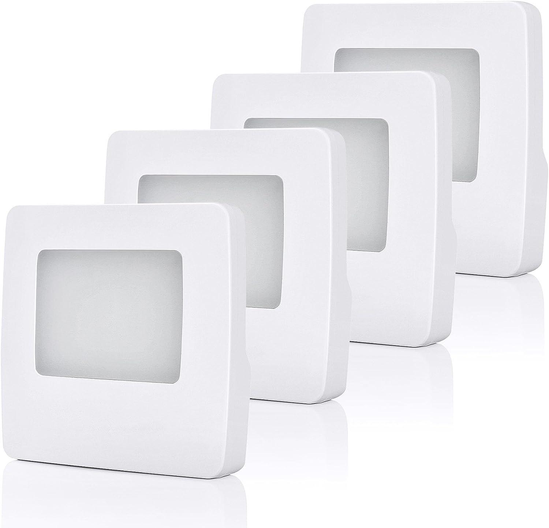 Amazon.com: dewenwils Sensor de luz LED de Noche Ultra Slim ...