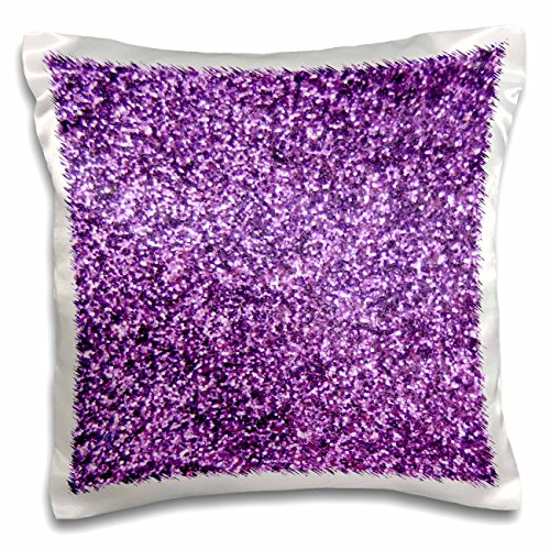 3dRose pc 112889 1 Glitter Photo Texture Fashionable Effect Pillow