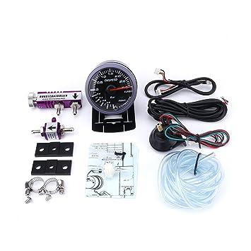 CNSPEED - Indicador de Turbo Impulso de 60 mm para coche, 3 Bares + Equipo