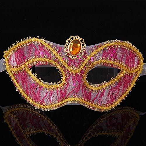 Damjic Halloween Masque; Adult Half Face Mask (Masque D'halloween De Vampire)