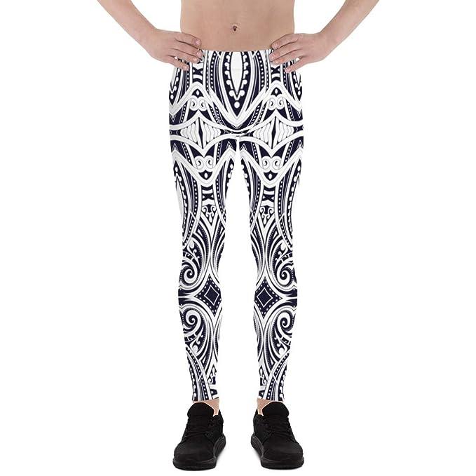 Amazon.com: Satori_Stylez Ta Moko - Leggings para hombre ...