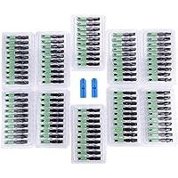 100 unids Adaptador de Conexión de Conector