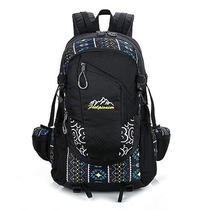 f6ac0a1fb991 Amazon.com : Hiking Backpack, 55L Waterproof Travel Backpack ...