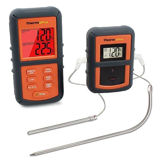 58 opinioni per ThermoPro TP08 Wireless Termometro Digitale da Cucina Carne Forno Barbecue con