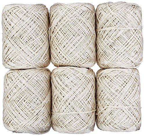 Kururu printemps et été tricot à la main 30 g 103 m 6 pièces