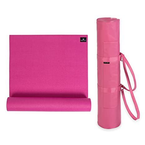 Amazon.com: Yoga Kit: Non-Slip Extra Thick 6mm Mat ...