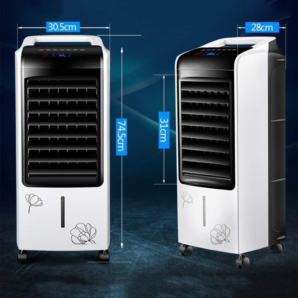 Condizionatore Ventilatore Riscaldamento e uso domestico muto a due usi Risparmio energetico Erogatore per telecomando Frigorifero Ventola per il condizionamento dacqua adatto per casa ufficio
