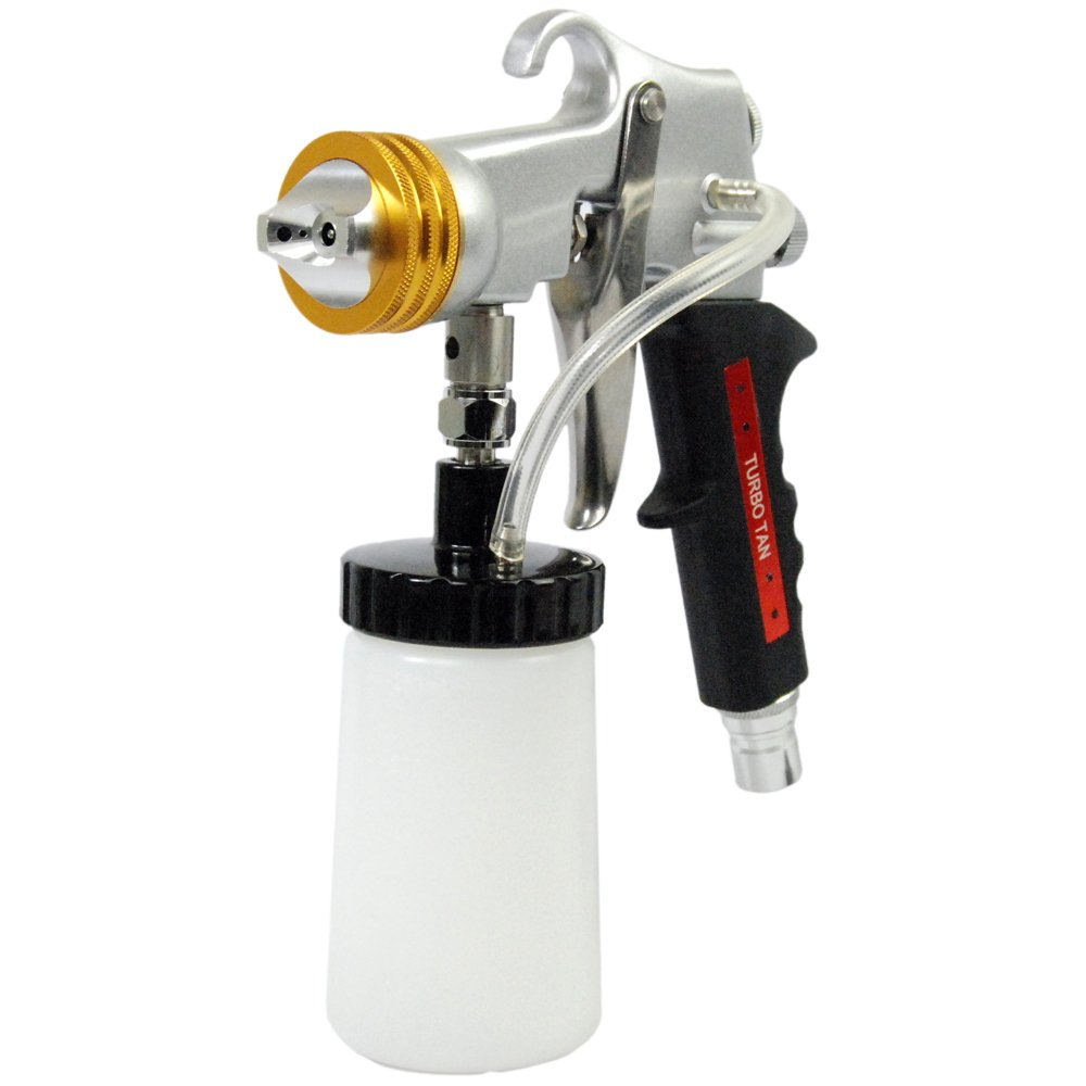 Professional Belloccio Turbo-Tan Metal HVLP Precision Spray Sunless Tanning Solution Application Gun; Model G11