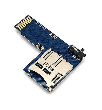 Dual MicroSD adaptador para Raspberry Pi - Permite el uso de ...