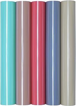 5 láminas de transferencia A4 para planchar sobre textiles, perfectas para plotter., color Juego de 5 fundas nórdicas.: Amazon.es: Oficina y papelería