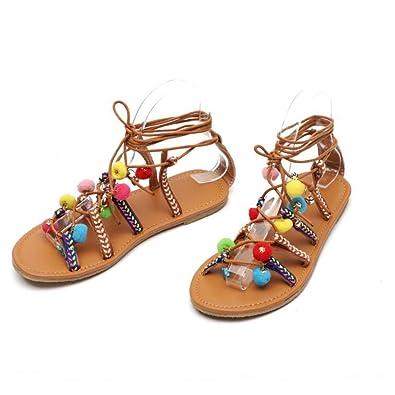 Amazon.com: Joybi - Sandalias para mujer, estilo casual, con ...