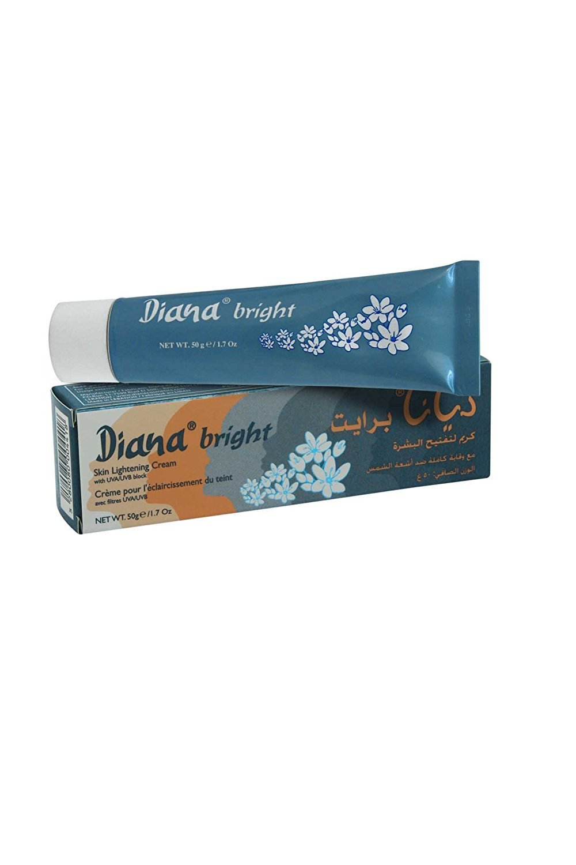Crème éclaircissante pour la peau avec bloc pour UVA/UVB, 50g, par Elyseestar-pour éclaircir une peau noire, asiatique, somalienne, arabe, de Diana 50g