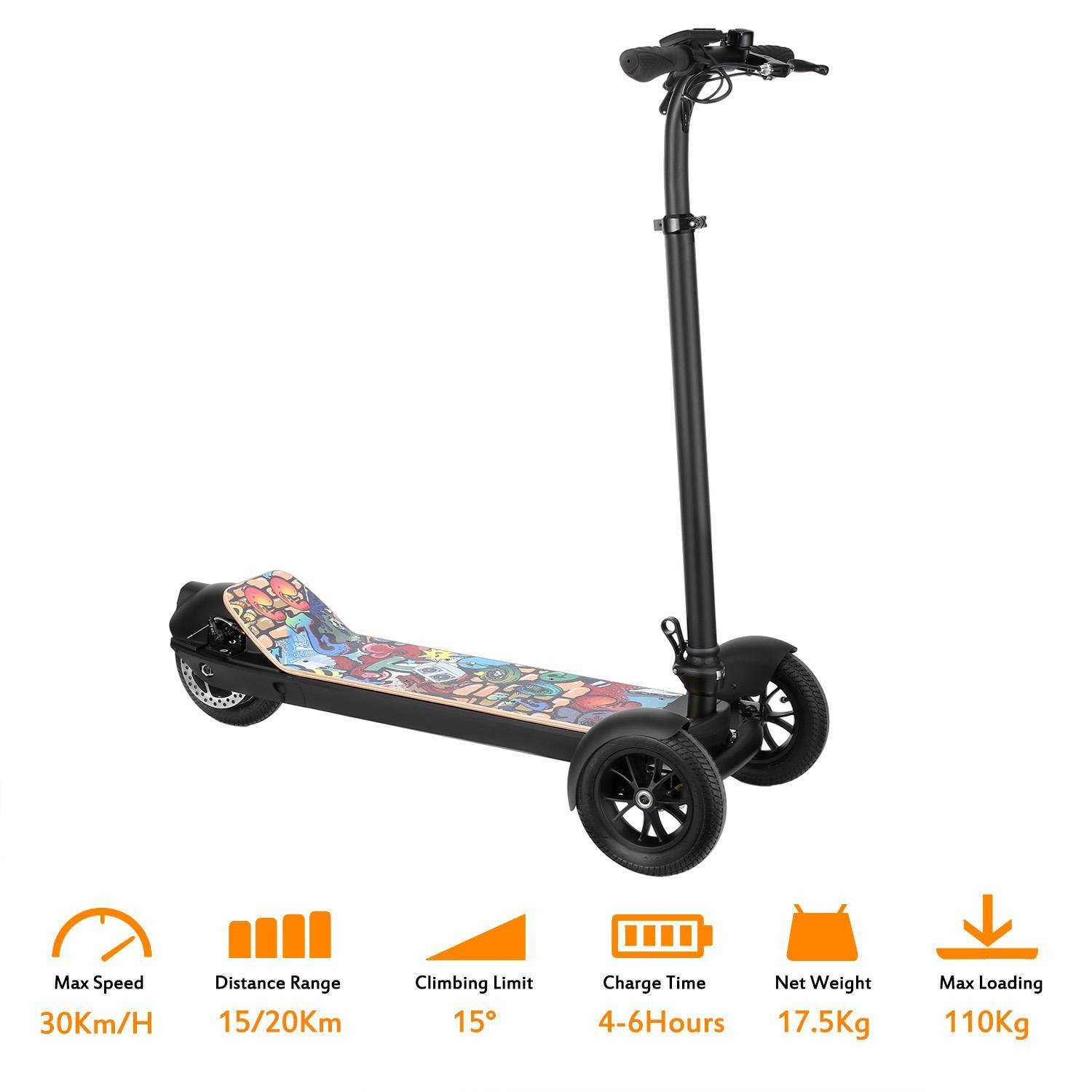 Oguine Folding Electric Scooter Folding Mobility Scooter ...