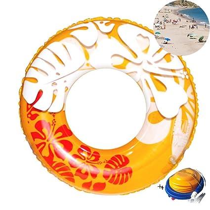 fa77315a9 JYY Juguetes Inflables del Agua del Flotador De La Piscina del Anillo De La  Natación del