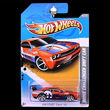 Amazon Com Hot Wheels Dodge Challenger Drift Car Orange Blue
