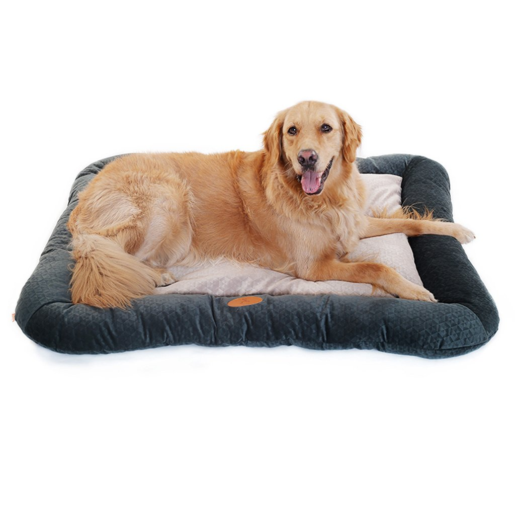 blueE Medium blueE Medium CHONGWFS Soft and Comfortable Pet Sofa Four Seasons Universal Bed Suitable for Medium Large Dogs (color   bluee, Size   Medium)