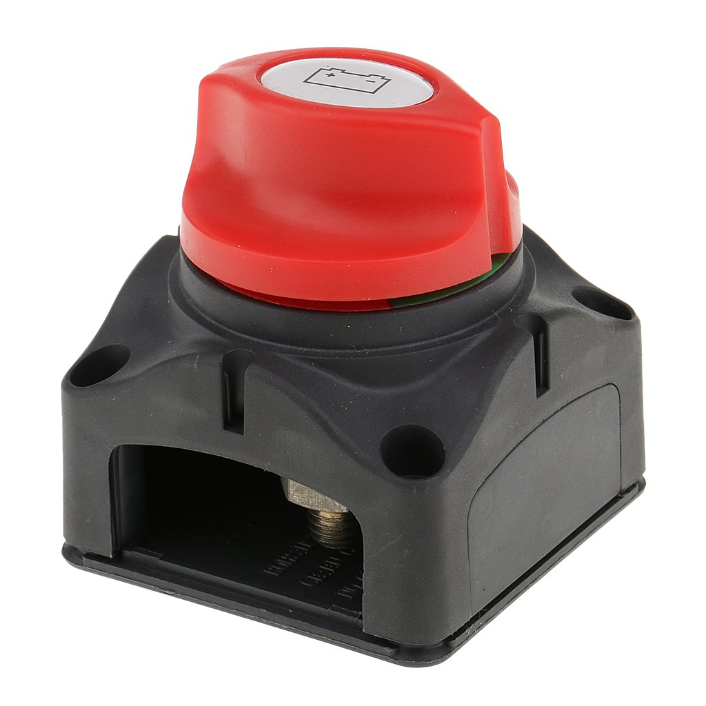 MonkeyJack 300A BATTERY MASTER KILL SWITCH ISOLATOR DISCONNECT ROTARY CUT OFF CAR BOAT MARINE