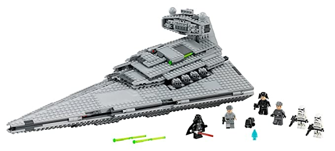 Amazon.com: LEGO® Star Wars™ Imperial Star Destroyer Kids Building ...