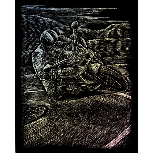 Racing Brush Motor (Royal and Langnickel Holographic Engraving Art, Motorcycle Racing)
