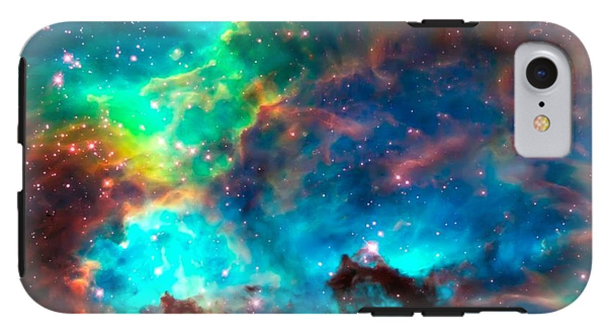 iPhone 8 Case ''Cosmic Cradle 2 Star Cluster Ngc 2074'' by Pixels by Pixels