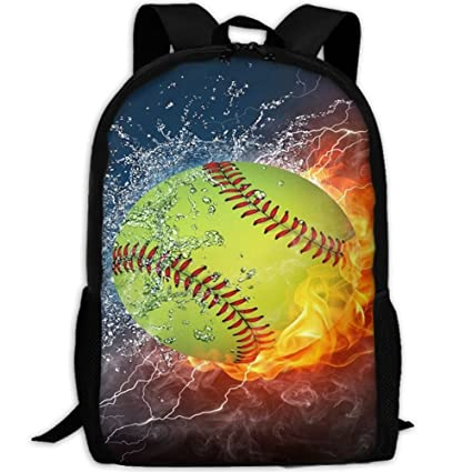 Klnsha7 Laptop Backpack Fire Softball Customized Mouse Pad Rectangle Mouse  Pad Gaming Mouse Mat MP2264 Computer ff16c4bc1