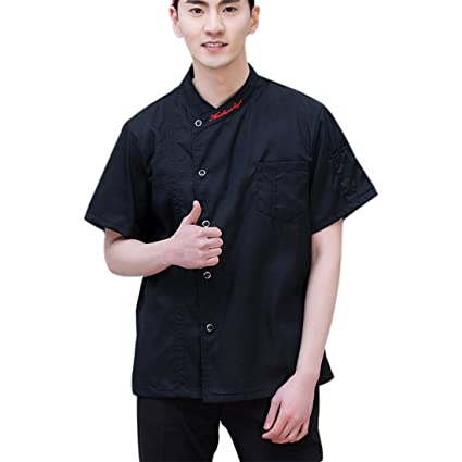 Xianheng Chaqueta Camisa de Chef Pastelero Uniforme de ...