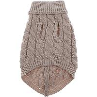 Blesiya Pet Dog Sweaters Fleece and Cotton Lining Pet Cat Sweater Warm Dog Sweatshirt Dog Winter Clothes Kitten Puppy…